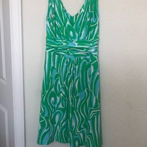 Lilly Pulitzer green and blue sundress